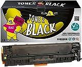 Yellow Yeti 305X CE410X (4000 Seiten) Schwarz Premium Toner kompatibel für HP Laserjet Pro 300 Color M351 M351a MFP M375 M375nw Pro 400 Color M451dn M451dw M451nw MFP M475dn M475dw [3 Jahre Garantie]