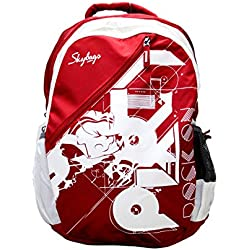 Skybags Pogo 32 Ltrs Red School Backpack (BPPOGO1RED)
