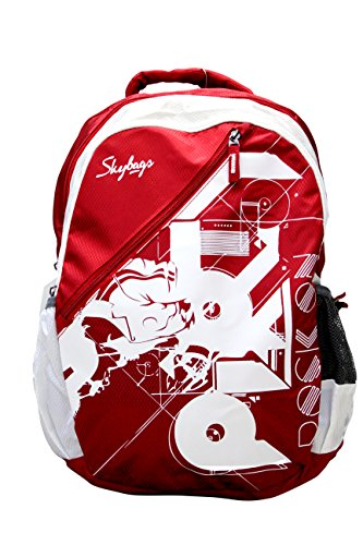Skybags Pogo 32 Ltrs Red Casual Backpack
