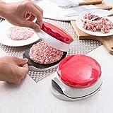 Hunpta@ 1Stück Kreativität Hamburger Fleischpresse Selbst gemachte Runde Kunststoff Manuelle...