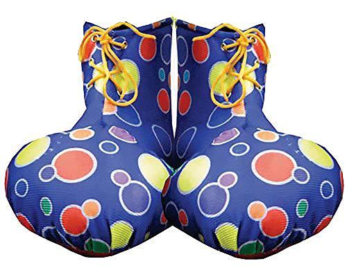 -R Erwachsene Clown-Schuh-Abdeckungen, Blau, Einheitsgröße ()