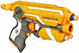 NERF N-Strike Elite Firestrike Blaster and AmazonBasics batteries