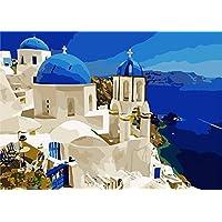 DIY Digital lienzo aceite pintura regalo para adultos niños pintura por número kits Home Decorations- 16* 20inch