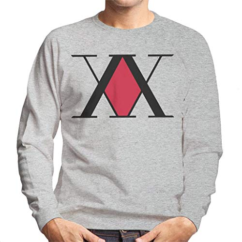 Cloud City 7 Hunter X Hunter Association Logo Men's Sweatshirt - Hunter Jumper Sweatshirt
