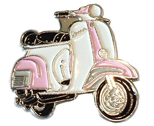 rosa-chiaro-e-bianco-girls-scooter-mod-femmina-metallo-smaltato-distintivo