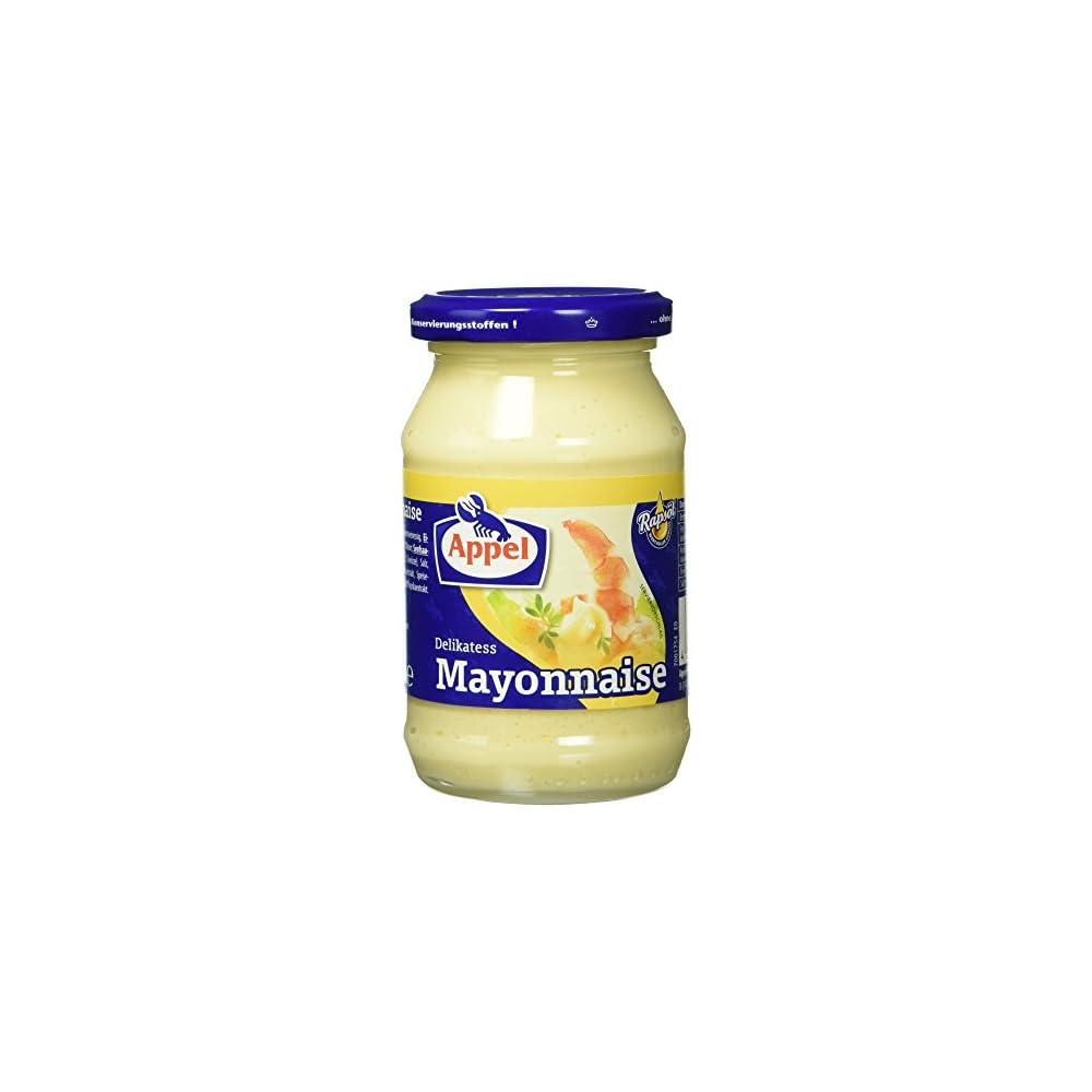 Appel Delikatess Mayonnaise Mit Wertvollem Rapsl 250 Ml