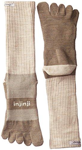 Injinji 2.0Outdoor nuwool Midweight Crew Socken, Herren, Hellbeige