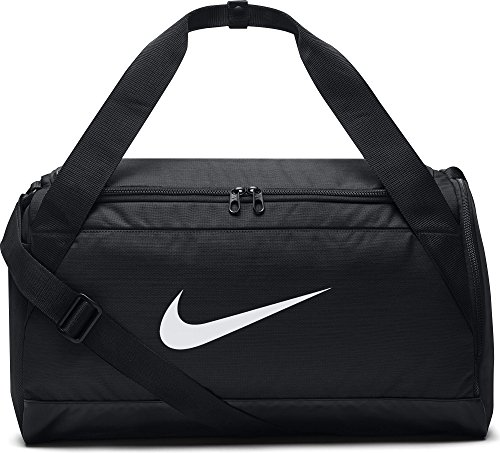 Nike Herren Brasilia S Sporttasche, Black/White, 51 x 25 x 28 cm