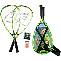 Speedminton Set junior Speed Bádminton infantiles, Verde, One size