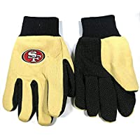 ‏‪FOCO NFL Team Utility Gloves - San Francisco 49ers‬‏