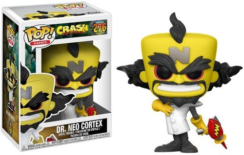 Funko Pop Neo Cortex (Crash Bandicoot 276) Funko Pop Crash Bandicoot