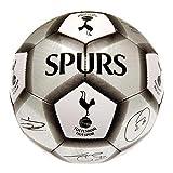 Tottenham Hotspur FC Official Silver Signature Crest Football (Size 5)