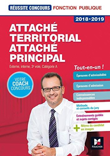Réussite Concours - Attaché territorial, Attaché principal Cat. A - 2018-2019 - Préparation complète