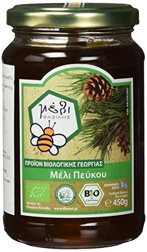 Organic Honey Fasilis Bio Kiefernhonig im Glas, 450 g