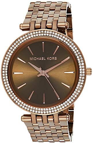 Michael Kors Analog Brown Dial Women's Watch-MK3416