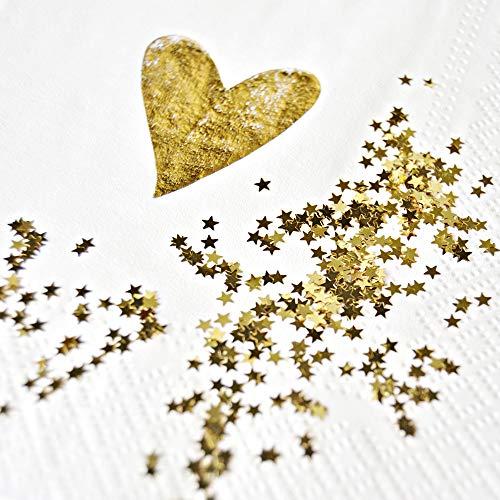 3 mm Sternenkonfetti Metallic Folie Sterne Pailletten für Party Hochzeit Dekorationen DIY Basteln Nagelkunst Zubehör 3 mm gold