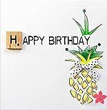 BEXYBOO Glückwunschkarte zum Geburtstag veredelt mit einem original Scrabble-Stein aus Holz. Eine hochwertige und originelle Geburtstagskarte mit Kristallen und Schleife, auch für Geschenkgutschein oder Geldgeschenk. BX080