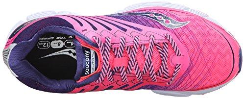 Saucony Breakthru 2, Scarpe da Corsa Donna Rosa (Pink/navy)