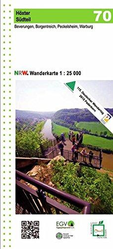 Höxter Südteil, Beverungen, Borgentreich, Peckelsheim, Warburg Wanderkarte NRW: 1:25.000 (Geo Map)