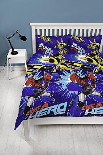 """Bettwäsche-Set """"Transformers Hero""""-Design, für Doppelbett, Wiederholungsdruck-Design"""