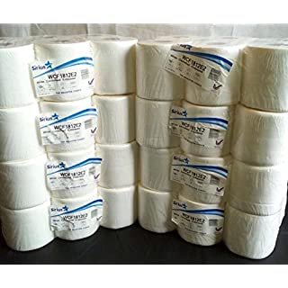 White Centrefeed Embossed 2ply Wiper Paper Towel (8 packs of 6 rolls = 48 rolls)