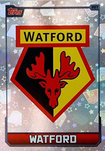 MATCH ATTAX 2015 2016   WATFORD CLUB BADGE   Number 307