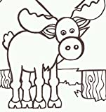 PaintaDoodle 12 x 12 Moose Painting Kit