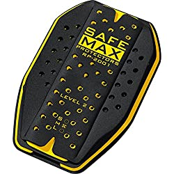 Safe Max Motorrad Rückeneinsatzprotektor Damen & Herren S-L | Protektor Einsatz, höchste Schutzstufe, atmungsaktiv, extrem leicht
