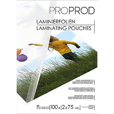 ProProd premium A4 150 Pouch - Matt (paquete de 100)
