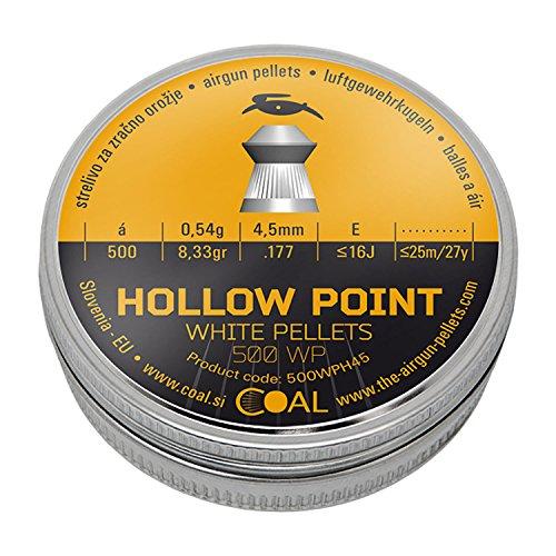 Hollow Point Diabolos Coal geriffelt 4,5mm 500 Stück -