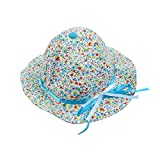 Baby Grow Baby Bowknot Bonnet Round Flor...