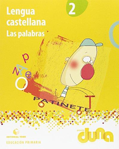 Lengua castellana 2. Las palabras - Proyecto Duna - 9788430720804