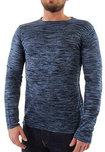 Solid -  Maglione  - Uomo blu XL