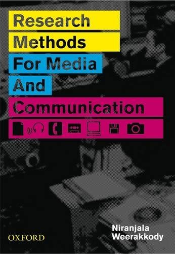 Research Methods for Media and Communication by Niranjala Weerakkody (2008-12-15)