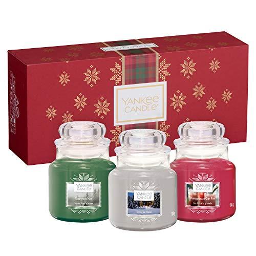 Photo de coffret-cadeau-yankee-candle-comportant-3-petites-jarres