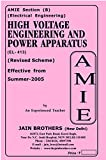 AMIE High Voltage engg and Power Appratus EL 413 Solved Paper