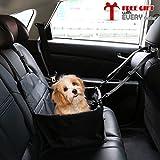 Ducomi dogsit–Kindersitz Auto für Hund–Sitzbezug für kleine und mittlere Hunde–Abdeckplane für Schützen die Sitze Der Fahrzeug–mit Riemen von Sicherheit und stabile