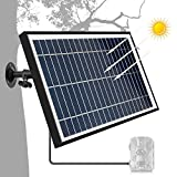 TRAIL WATCHER Caricatore Solare 12.1V 5.5W Solar Panel Charger DC Fotocamera esterna portoricana impermeabile per fotocamera Wild Camera Speaker DVD DC Equipment