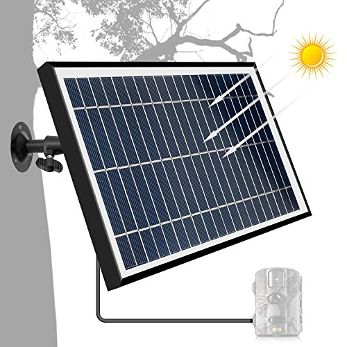 TRAIL WATCHER Solar Panel Charger 12.1V 5.5W DC Puerto