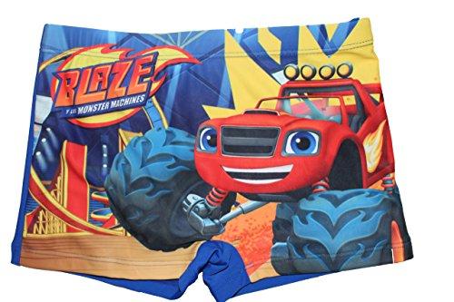 Blaze the monster machines boxer mare/piscina blu 3 anni