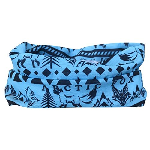 518tXANr%2BXL. SS500  - Arctic Aura Blue Aztec Multifunctional Scarf - Ski Mask and Headband for Snowboarding, Hiking, Running, Camping Outdoor Sports