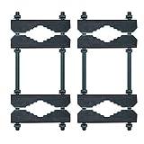 2x Mast Doppelschelle 8-fach Mastschelle bis 60mm Schelle Stahl Verzinkt