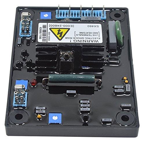 OUYAWEI zantec Spannung Regulator High Qualität schwarz AVR Automatischer Stromregler Spannungsregler für Generatoren Spannungsregler Haus Dekoration -