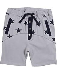 Zunstar Lenny - Pantalones cortos de náutica para niño, color Gris (Grey/Navy), talla UK: Talla 86/92