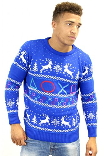 playstation-official-symbols-christmas-jumper-sweater-x-large
