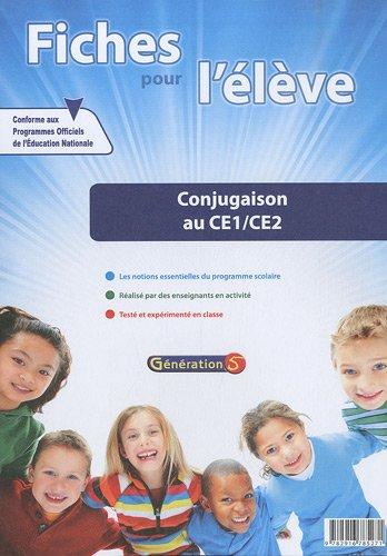 Conjugaison au CE1/CE2 : Fiches pour l'élève