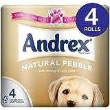 Andrex naturel Pebble Papier Toilette 8x 4par paquet