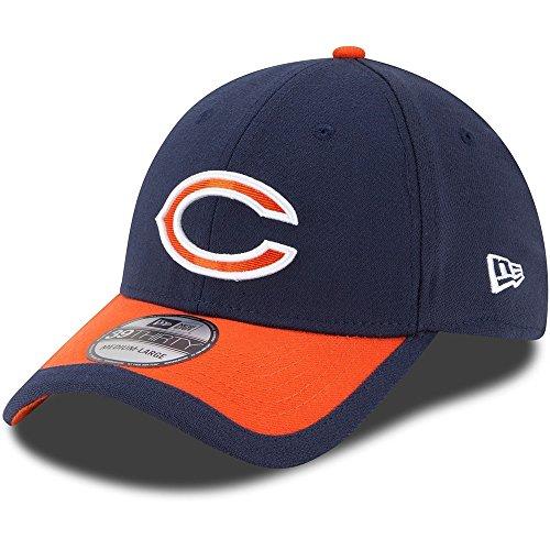- Team Farbe Ausgestattet Hut (New Era NFL CHICAGO BEARS Authentic On Field Sideline 39THIRTY Game Cap, Größe:S/M)