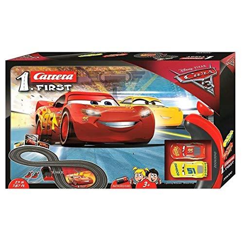 Carrera FIRST Disney Pixar Cars 2,4 Meter 20063010 Autorennbahn  ab 3 Jahren (Rennbahn)
