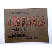 Catalogo 70 Fumistería Juan Sala Cocinas Calefacción Y Fundición. Valencia.